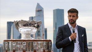 Gerard Piqué se encuentra en Nueva York presentando la Copa Davis