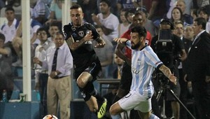 Gremio venciió a Atlético Tucumán por la ida de los cuartos de final de la Copa Libertadores