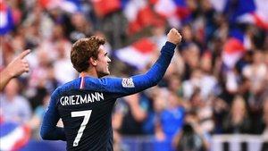 Griezmann certificó la victoria de Francia sobre Alemania con dos goles