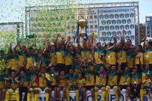 Guastatoya consiguió su segundo título de liga