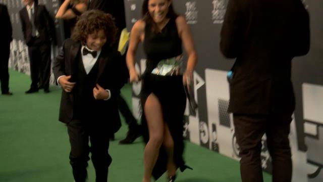 El hijo de Marcelo la lía en la gala del The Best