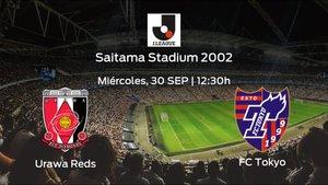 Jornada 29 de Liga Japonesa J1: previa del duelo Urawa Reds - FC Tokyo