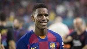 Junior jugará contra sus excompañeros hoy en el Camp Nou