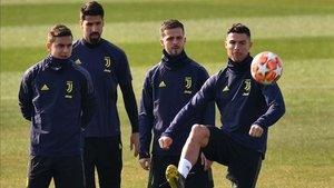Khedira, ausencia importante en la Juventus para medirse al Atlético