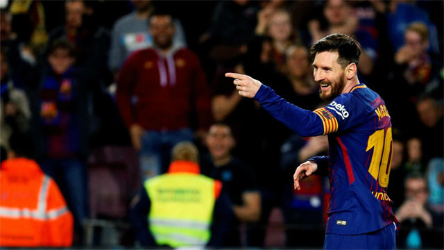 LALIGA | FC Barcelona - Leganés (3-1): Gran asistencia de Coutinho en el segundo gol de Messi