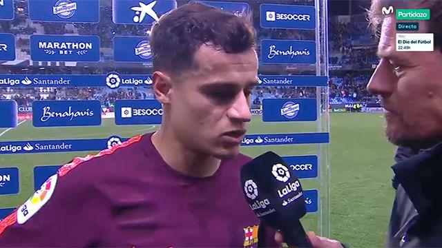 LALIGA | Coutinho fue protagonista de la victoria del Barça en Málaga