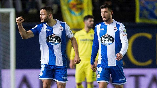 LALIGA   Deportivo de la Coruña - Villarreal (1-1)