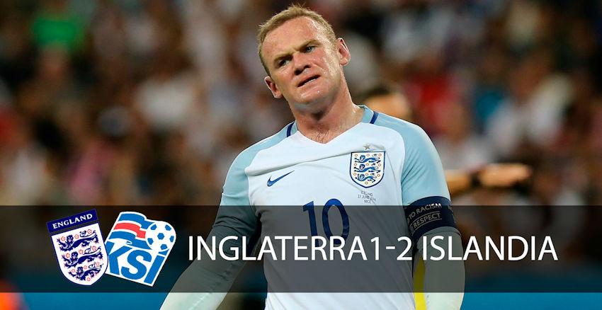 Las mejores imágenes de la derrota de Inglaterra frente a Islandia
