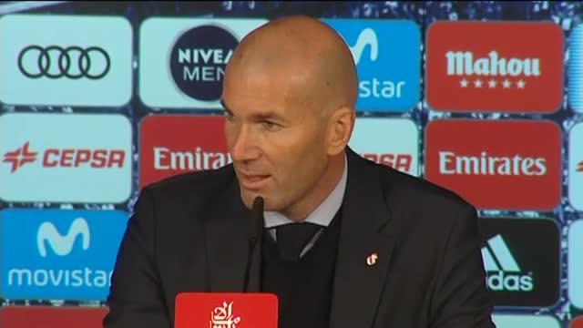 Las palabras de Zidane tras la derrota ante el Villarreal