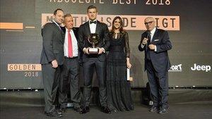 De Ligt recogió el premio Golden Boy en una gala celebrada en Turín
