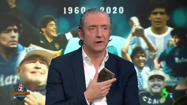 El loco Gatti, muy tocado por la muerte de Maradona: El pueblo está mal