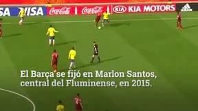 Los expedientes X del FC Barcelona: Marlon Santos