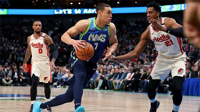Los Mavericks se imponen a los Blazers (120-112)