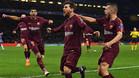 Messi marcó el gol del empate azulgrana