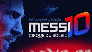 Messi es el protagonista del nuevo espectáculo de Cirque du Solei
