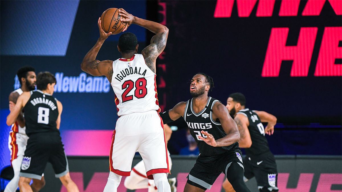 Miami Heat se impone a los Kings (104-98)