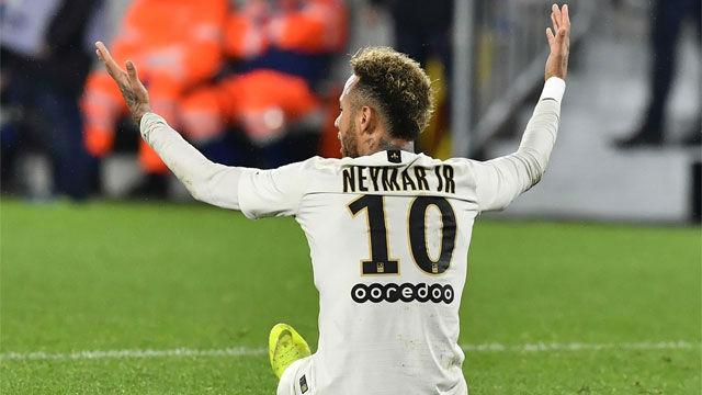 Neymar ante el Burdeos: Gol, baile y lesión