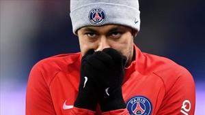 Neymar volvió a mostrar su lado misterioso