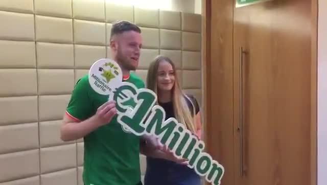 OConnor recibió el millón de euros