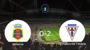El Olímpico De Totana derrota 0-2 al Minerva y se lleva los tres puntos