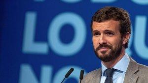 Pablo Casado responde a la pregunta de si podría vivir con 385 euros al mes