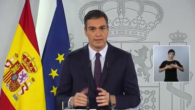 Pedro Sánchez: Más de tres millones de personas han pasado el coronavirus en España