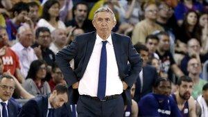 Pesic analizó las perspectivas del duelo ante el Olympiacos