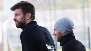 Piqué y Messi encabezan el ránking de cláusulas