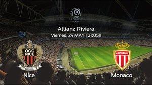 Previa del partido: el Monaco viaja al estadio del Nice para acabar el campeonato