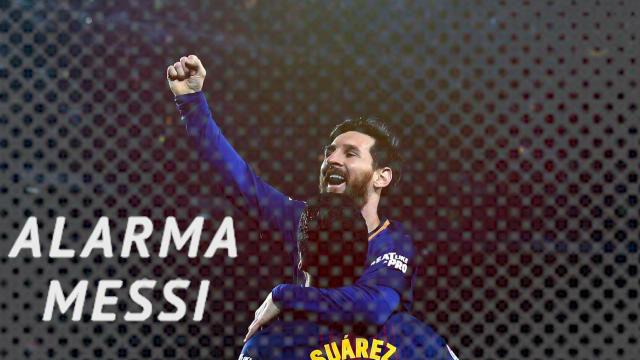 Lo que perderá el Barcelona sin Messi en el Clásico