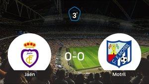 El Real Jaén y el Motril empatan y suman un punto a su casillero (0-0)