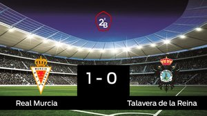 El Real Murcia derrotó al Talavera de la Reina por 1-0