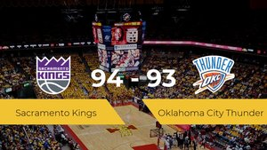 Sacramento Kings logra vencer a Oklahoma City Thunder en el Golden 1 Center (94-93)
