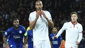 El Sevilla cayó ante el Leicester en su último emparejamiento con un equipo inglés