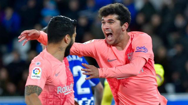 Terremoto en Vitoria...¡Apareció Aleñá! Así narró la radio el gol del Barça