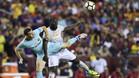 Thomas Vermaelen, en una acción contra el Manchester United (1-0) esta pretemporada en Landover (Estados Unidos)