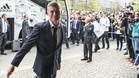 Toni Kroos a su llegada al hotel de concentración del Madrid en Múnich
