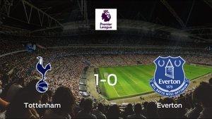 El Tottenham Hotspur suma tres puntos a su casillero tras ganar al Everton (1-0)