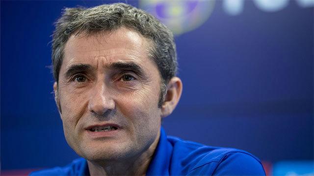 Valverde: No es normal empezar LaLiga sin la plantilla cerrada