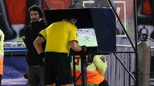 El VAR ya se aplica al fútbol español