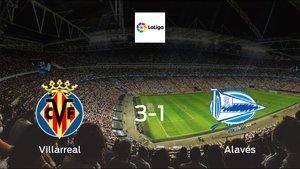 Villarreal earned hard-fought win over Alavés 3-1 at Estadio de La Ceramica