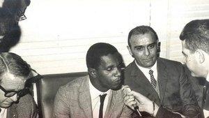 Walter Machado Da Silva, entrevistado a su llegada a Barcelona (febrero de 1967)