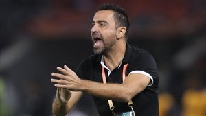 Xavi, en el punto de mira del Barça
