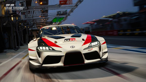 Nuevo Toyota Supra en Gran Turismo.