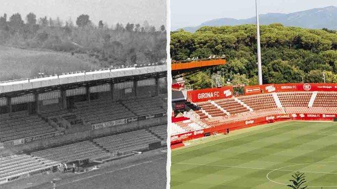 El Girona celebra el 50ª aniversario de la inauguración de Montilivi