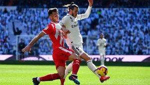 Alcalá, en el duelo ante el Real Madrid