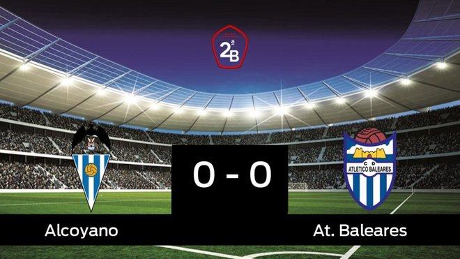 El Alcoyano empató ante el At. Baleares (0-0)
