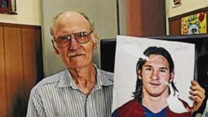 Antonio Cuccittini, abuelo materno de Messi, ha fallecido a la edad de 89 años