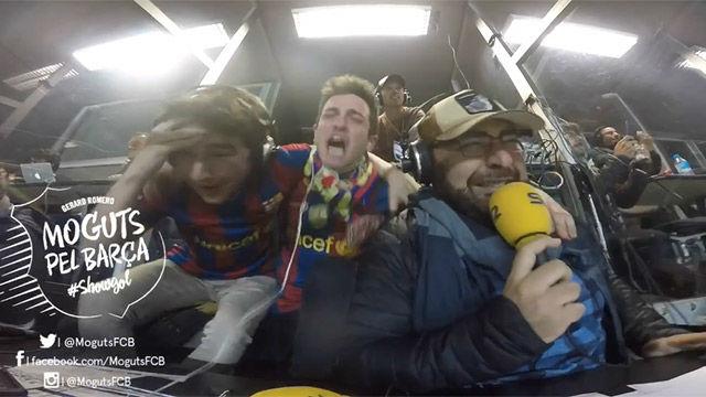 Así cantó el 6-1 Gerard Romero en Moguts pel Barça
