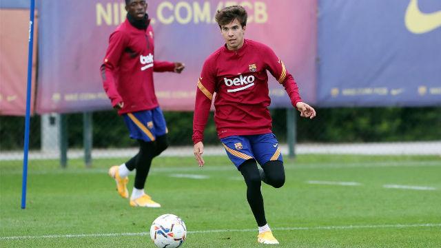 Así ha sido el entrenamiento del FC Barcelona